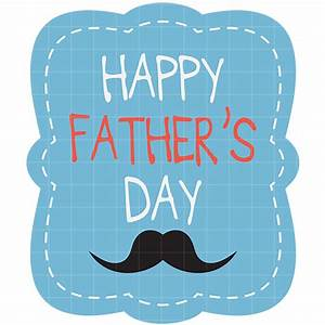 Happy fathers day clipart free black and white images ...