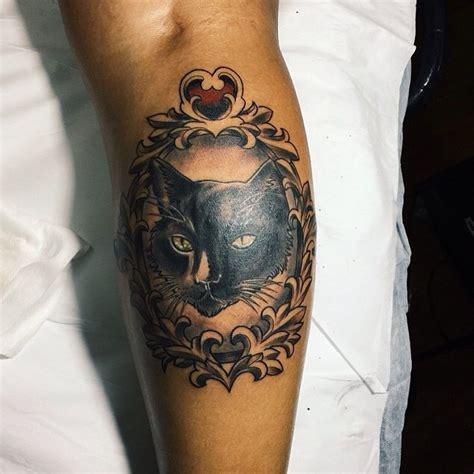 mysterious black cat tattoo ideas   good  evil