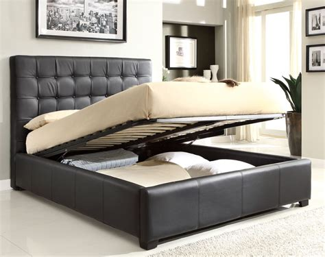 Cheap Sofa Table Walmart by Athens Queen Size Bed W Storage Black