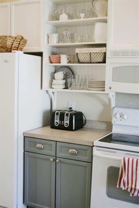 meuble cuisine sans porte meuble de cuisine 32 idées rusées pour plus de rangement