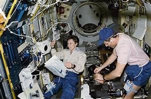 Payload Specialist Roberta Bondar and Astronaut Stephen ...