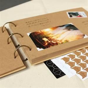 Album Photo Pour Polaroid : buy a4 56p kraft diy handmade baby album creative couple polaroid photograph ~ Teatrodelosmanantiales.com Idées de Décoration