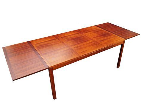 danish modern drop leaf table kai winding mid century danish modern rosewood drop leaf