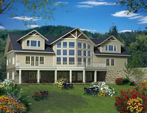 House Plan 85342 with 3 Bed 3 Bath 3 Car Garage House