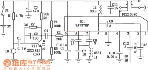 Wireless Microphone Circuit Other