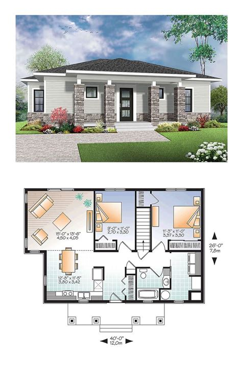 modern contemporary home plans small home floorplans image free house floor plans