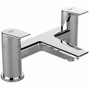 Ideal Standard Tesi : ideal standard tesi dual control deck mounted bath filler tap a6590aa ~ Buech-reservation.com Haus und Dekorationen