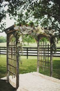 wedding arbor etsy wedding ceremony decor 15 unique ways to add style to