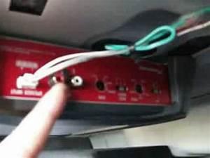Ve Commodore Sub Amp Install