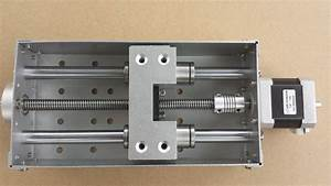 BallScrew Anti-Backlash CNC Z-axis slide assembly for DIY