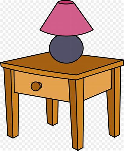 Table Clipart Clip 1964 Bedside Tables Bedroom