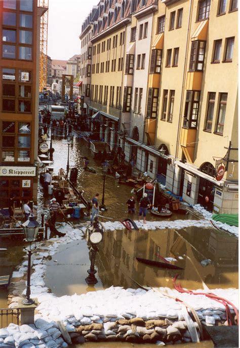hochwasser dresden im august
