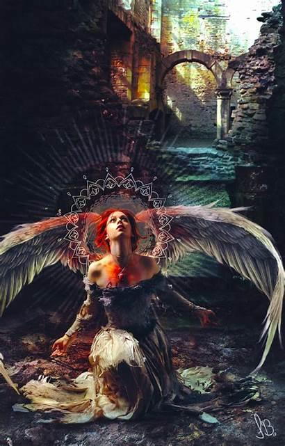 Fallen Angel Deviantart Fantasy