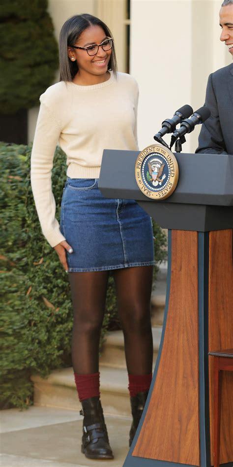 Sasha Obama's Style Evolution Instylecom