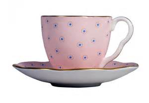 pink kitchen knives wedgwood polka dot tea story coffee cup and saucer pink