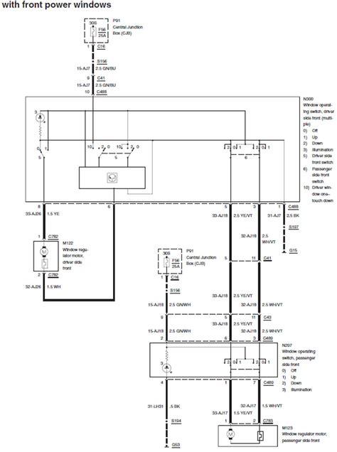 2002 ford explorer power window wiring diagram wiring