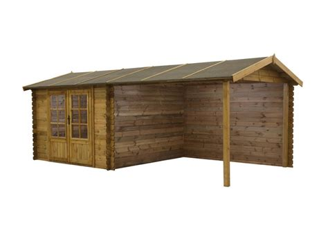abri de jardin traite abri de jardin carport rochester bois trait 233 28 mm