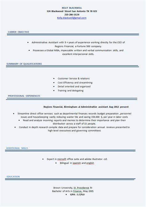 Modele Cv Simple Gratuit by Mod 232 Le De Cv 50 Exemples De Cv Gratuits Word