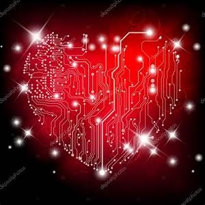 Heart Electric Board  U2014 Stock Vector  U00a9 Mirabavutti  8307651