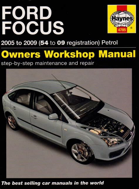 ford focus owners manual  modified  ford
