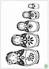Nesting Coloring Russian Dolls Doll Matryoshka Drawing Dinokids Printable Crafts Tattoo Matrioshka Template Kokeshi Harmony Jüngstes Kind Kindy Getdrawings Close sketch template