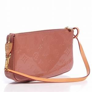 Pochette Or Rose : louis vuitton vernis pochette accessories nm rose velours ~ Teatrodelosmanantiales.com Idées de Décoration