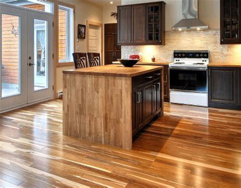 protection plan de travail bois cuisine poser un plancher sain écologique et de provenace locale
