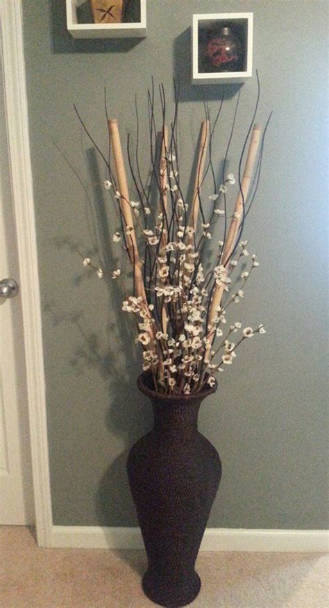 Vases For Bamboo Sticks - bamboo from dollar tree black wood wavy sticks from ikea