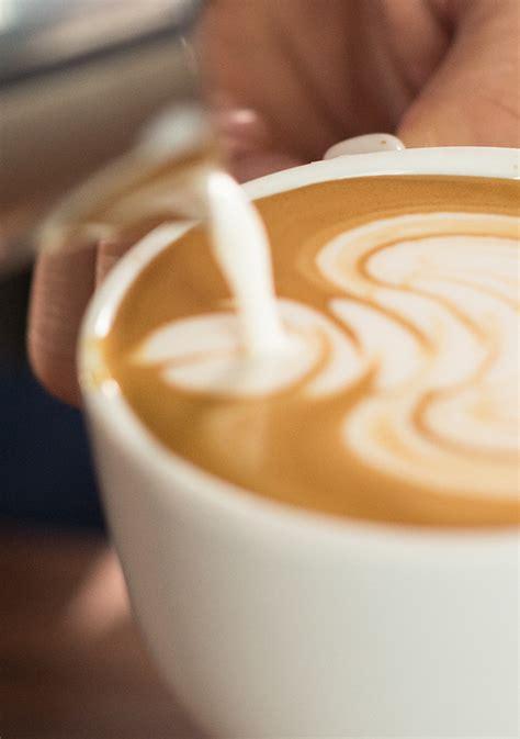 latte art   barista martha stewart