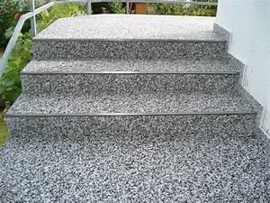 Außen Treppenstufen Beton : treppen steindesign kieselbeschichtung steinteppich ~ Michelbontemps.com Haus und Dekorationen