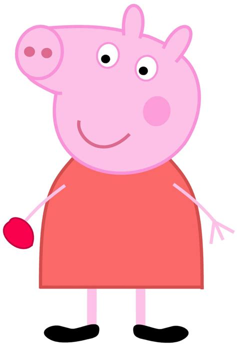 Peppa Pig Artwork peppa pig eating a red plum by dev catscratch on deviantart