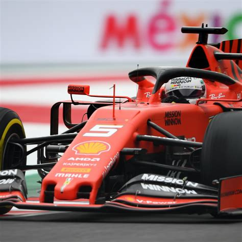 Mexican F1 Grand Prix 2019 Qualifying: Results, Times from ...