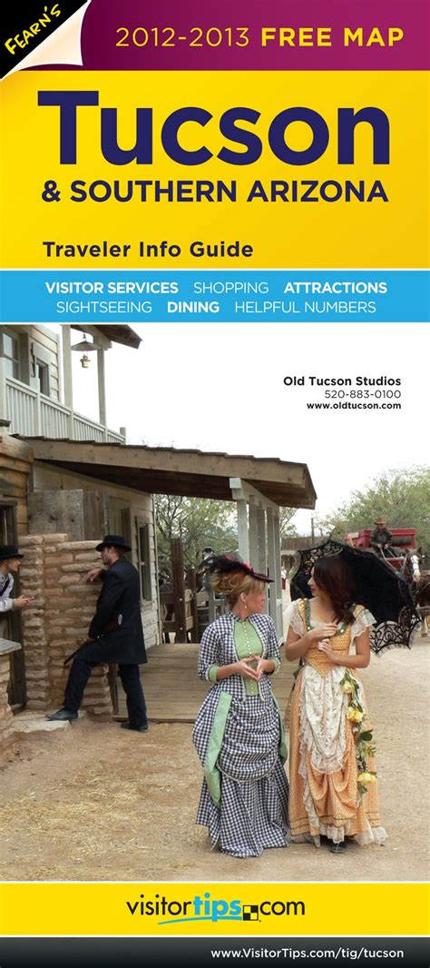 tucson visitors bureau pin by visitortips on traveler info guides