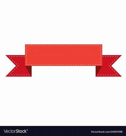 Ribbon Banner Vector Sign Vectors