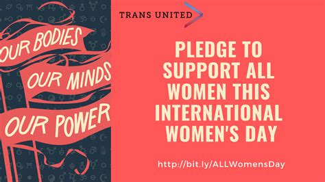 Pledge To Support All Women This International Womens Day