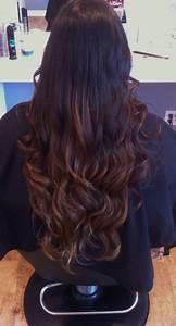 Ombré Hair Marron Caramel : caramel ombre in my dark brown hair things i like ~ Farleysfitness.com Idées de Décoration