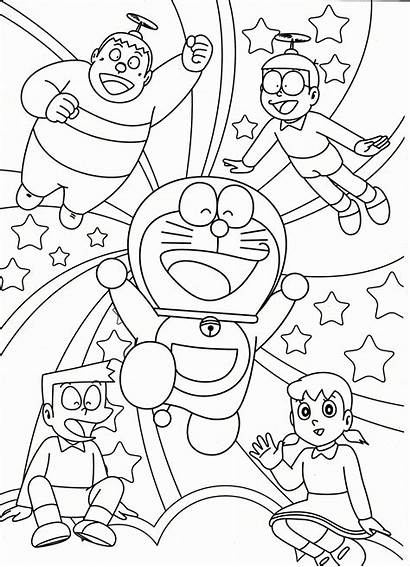 Colorear Doraemon Imprimir Plantillas Dibujos Planetadibujos
