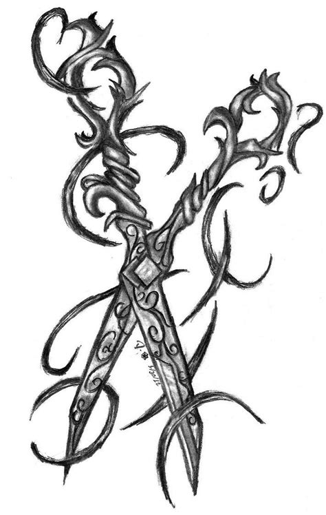scissors tattoo - Google Search | Wish list | Pinterest