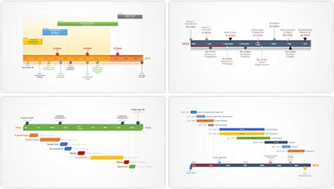 microsoft timeline template office timeline gantt chart software tour