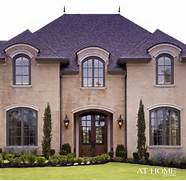 Country House Facade Design French Country Home Still Working Out The Front Of The Dream Home