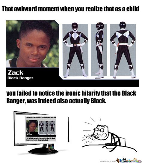 Racist Black Memes - racist black ranger by aroc11 meme center