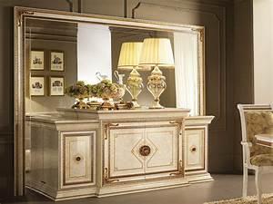 Buffet Avec Miroir : leonardo buffet avec miroir by arredoclassic ~ Teatrodelosmanantiales.com Idées de Décoration