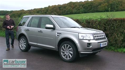 land rover freelander suv review carbuyer youtube