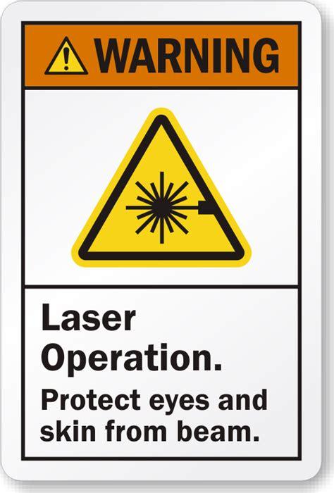 laser light warning label laser warning labels and decals