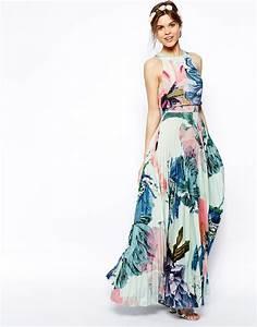 25 basta robe fleurs longue ideerna pa pinterest robe With robe fluide habillée