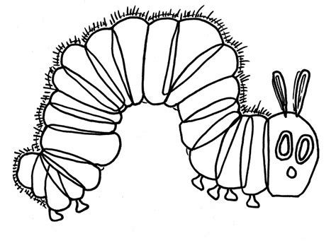 hungry caterpillar coloring pages