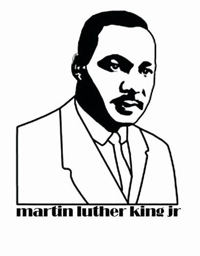 Luther Martin King Jr Coloring Pages Printable