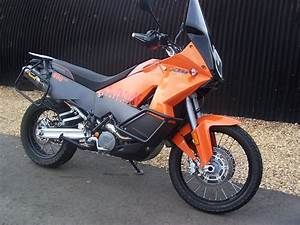 Ktm 990 Adventure In For Ecu Remap  Fitted With Akra Cans