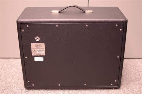 fender rod deluxe 1x12 cabinet extension black used