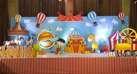 carnival theme decoration  birthday party hyderabad